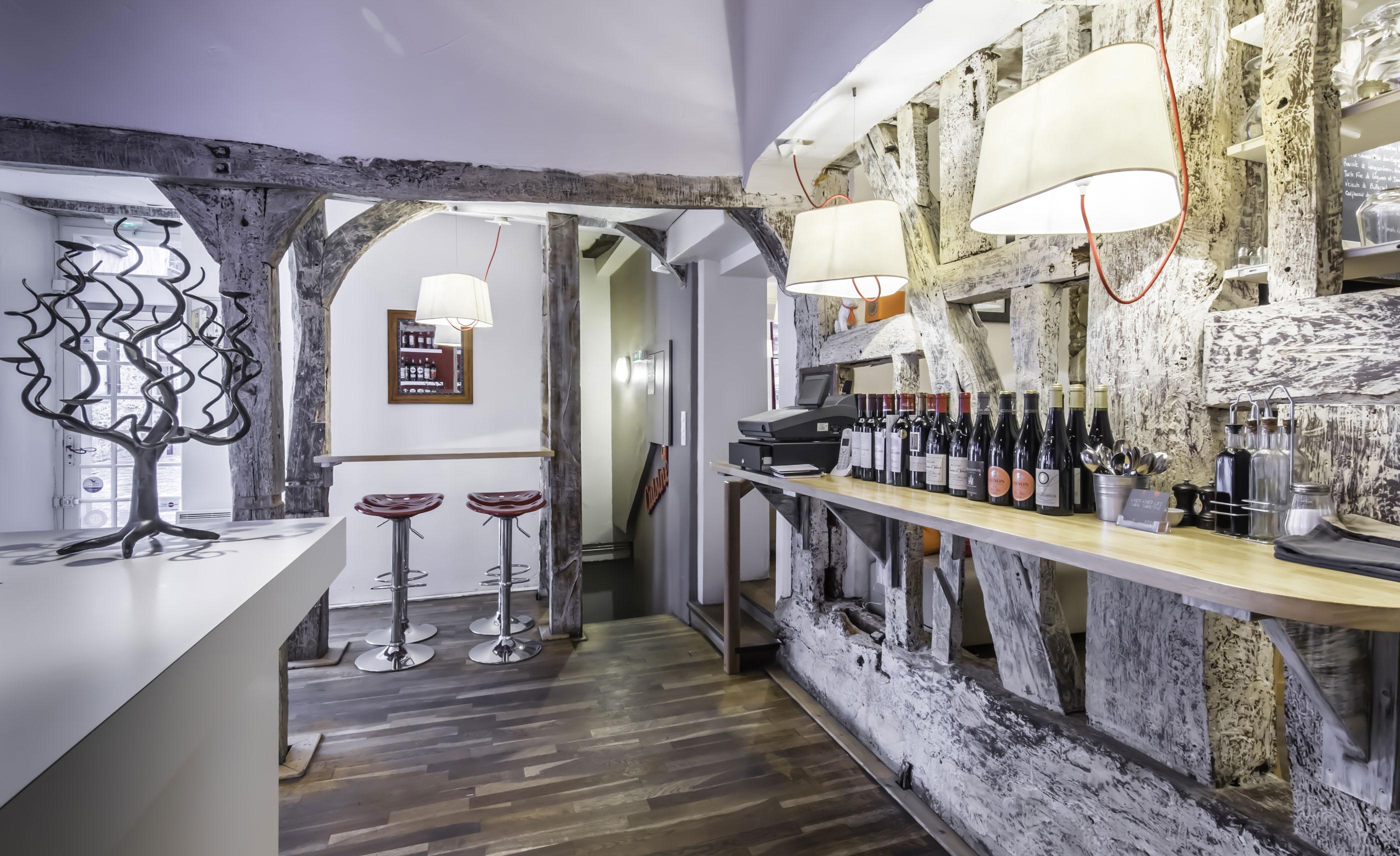 vue intérieure Restaurant chez Les Garçons à Rennes